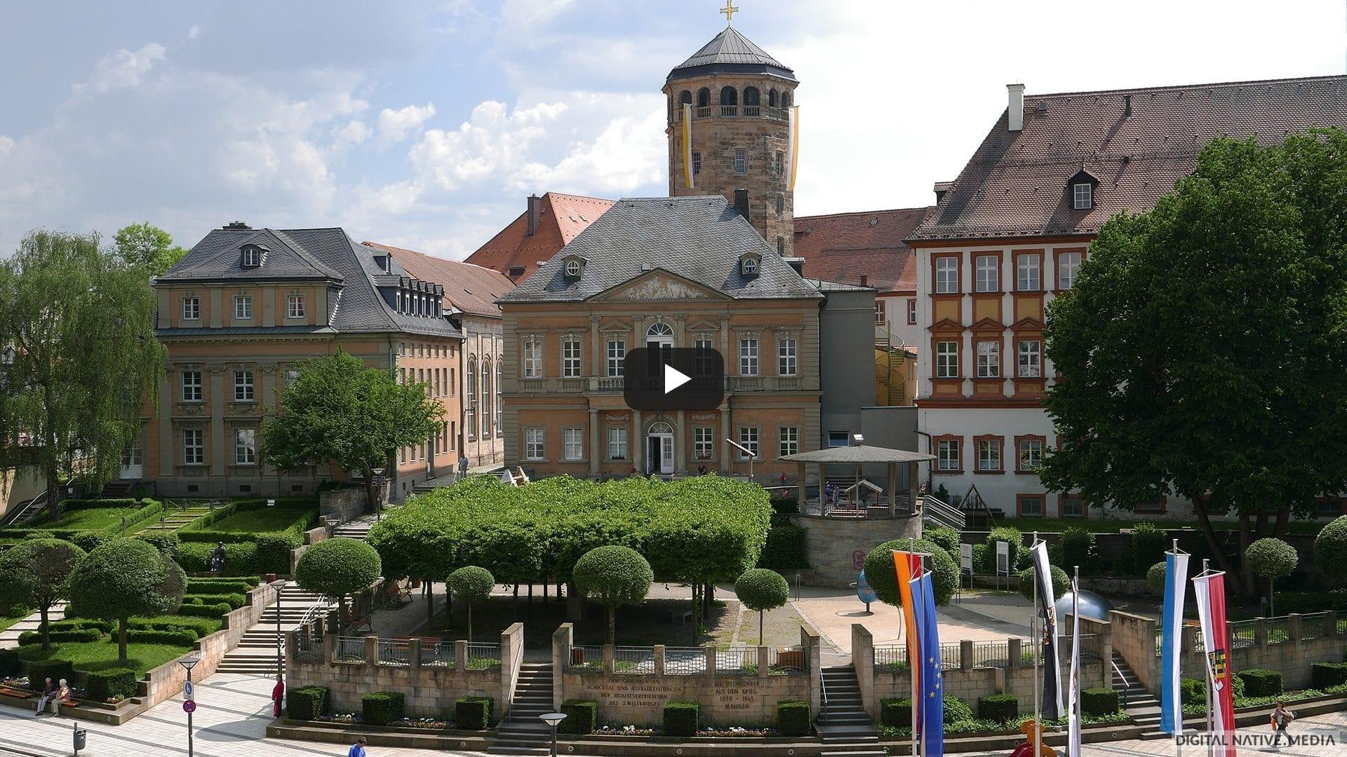 Video über die Stadt Bayreuth. Gedreht von Digital Native Media
